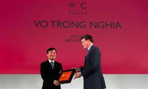 Kiến trúc sư Việt Võ Trọng Nghĩa nhận giải thưởng quỹ Hoàng tử Claus