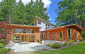 Thiết kế kiến trúc nhà gỗ tối giản