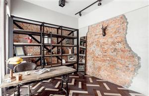 Tạo ấn tượng căn phòng với thiết kế tường độc đáo