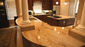Thiết kê nội thất với đá granit