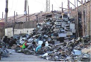 Nhập khẩu thép phế liệu đe dọa đến môi trường