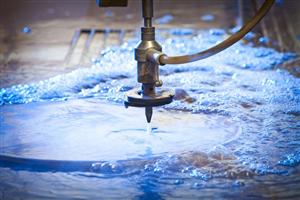 Phương pháp cắt kim loại bằng tia nước